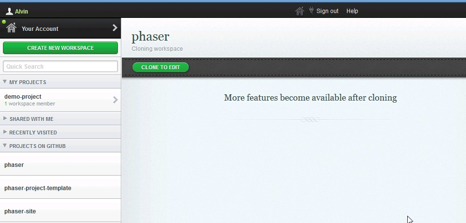 Phaser Tutorial 01 - Getting Started